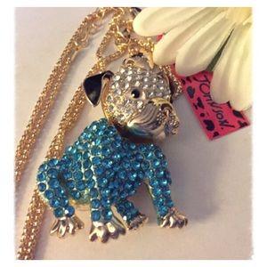 🆕Shar Pei Rhinestone Dog Crystal Pendant